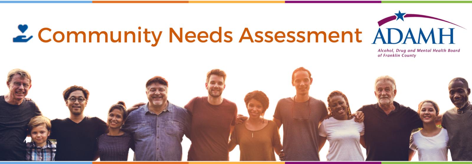 ADAMH Community Needs Assessment Banner
